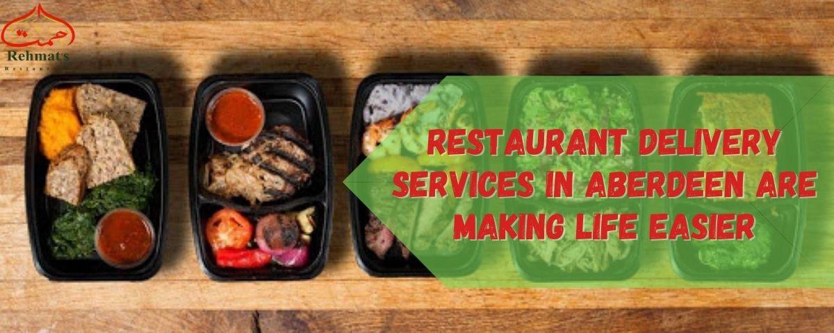 Online Restaurant Delivery Services in Aberdeen - Rehmat's Restaurants